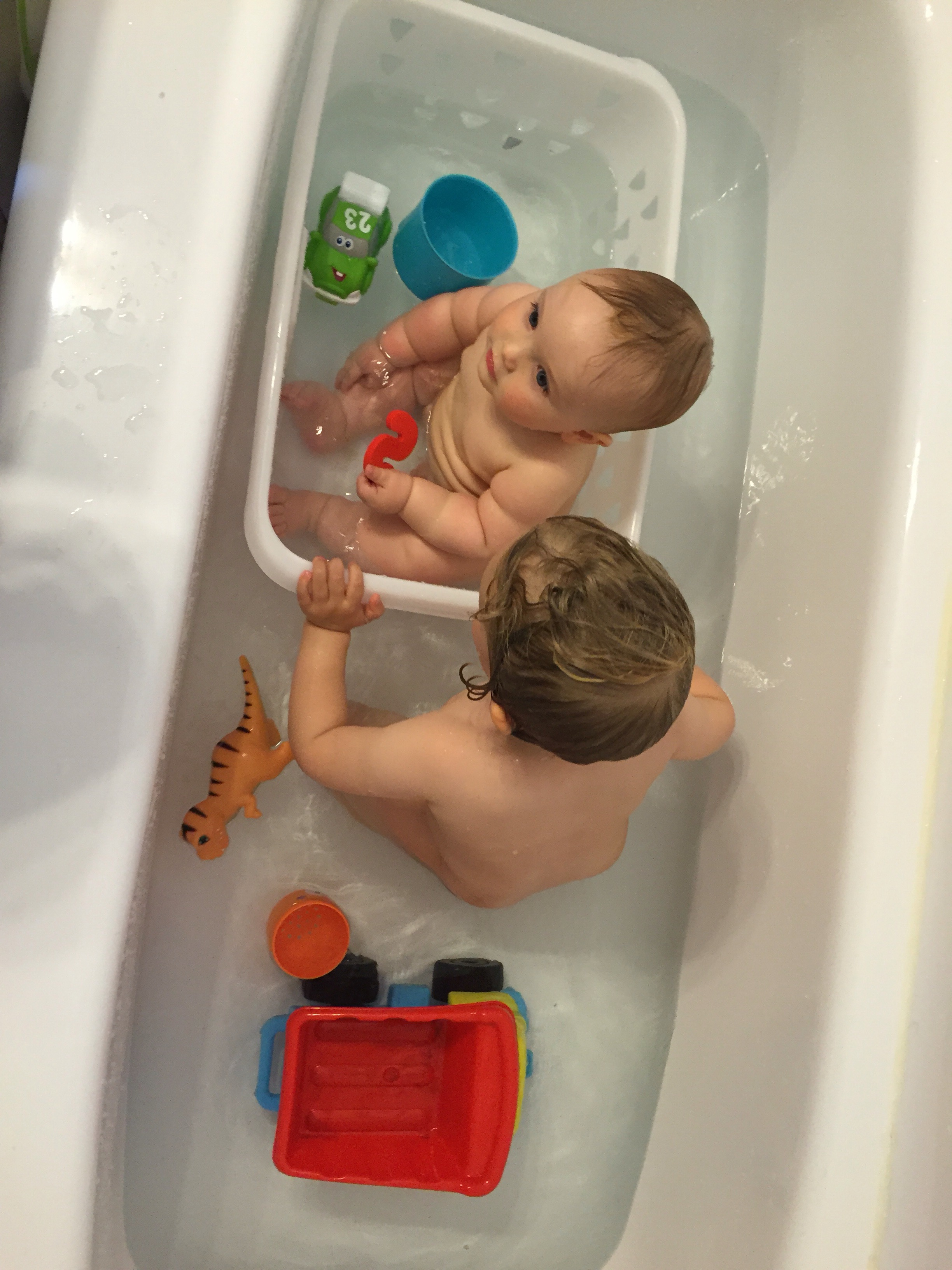 Bath time boys | the recombinants