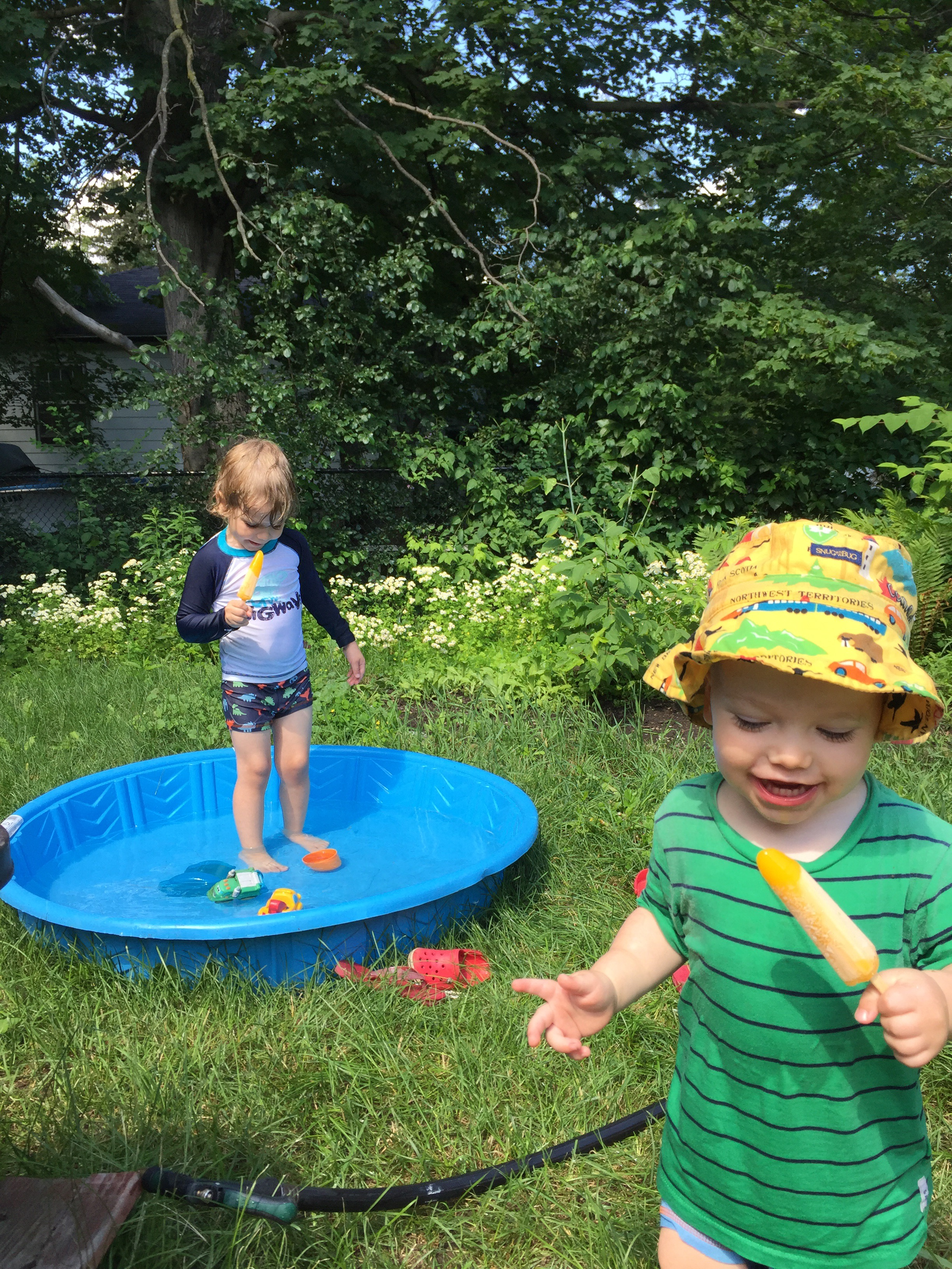 Popsicles and paddling pools the recombinants for Paddling pool heater